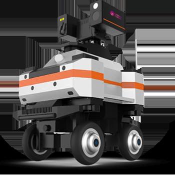 ZH780八驱多光谱变电站智能巡检机器人
